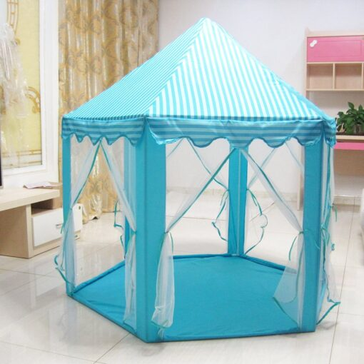 Play House Game Tent Toys Ball Pit Pool Portable Foldable Princess Folding Tent Castle Gifts Tents 3