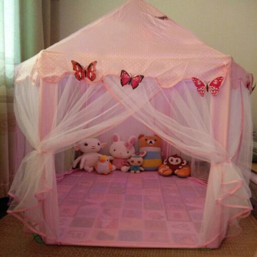 Play House Game Tent Toys Ball Pit Pool Portable Foldable Princess Folding Tent Castle Gifts Tents 5