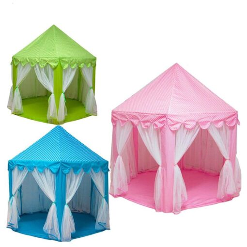 Play House Game Tent Toys Ball Pit Pool Portable Foldable Princess Folding Tent Castle Gifts Tents