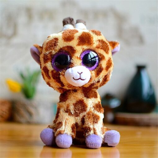 Plush Icy the Seal 9cm Toy Big Eyes Plush Toy Doll Purple Panda Baby Kids Gift 2