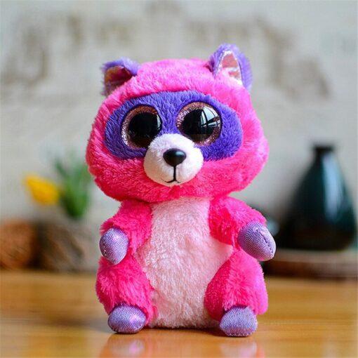 Plush Icy the Seal 9cm Toy Big Eyes Plush Toy Doll Purple Panda Baby Kids Gift 3