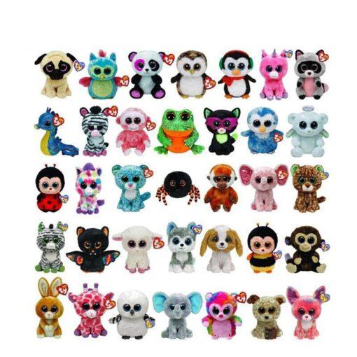 Plush Icy the Seal 9cm Toy Big Eyes Plush Toy Doll Purple Panda Baby Kids Gift 4