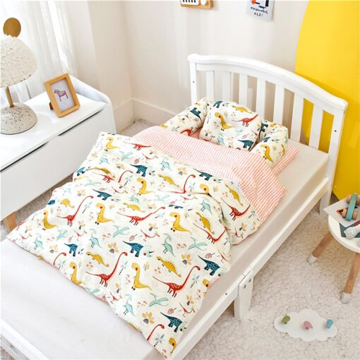 Portable Baby Bionic Bed Cotton Cradle Baby Bassinet Bumper Folding Sleep Nest for Toddler Newborn Travel 1