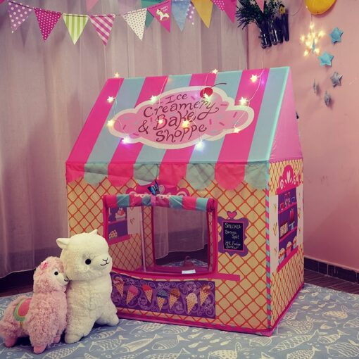 Portable Kids Tent Child Baby Toys Fairy House for children Play Tents for kids Play Ball 3