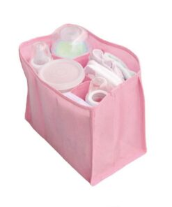 Portable outdoor travel diaper bags baby diapers Storage of water bottles changing interior lining organizer bag