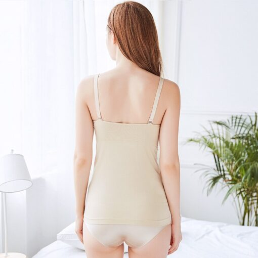 Pregnancy Clothes Tanks Nursing Vest Bra 2Pcs Sets Maternity Clothings Breastfeeding Bras Wirefree Nursing Sleep Underwear 2