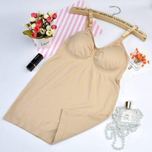 Pregnancy Clothes Tanks Nursing Vest Bra 2Pcs Sets Maternity Clothings Breastfeeding Bras Wirefree Nursing Sleep Underwear 4