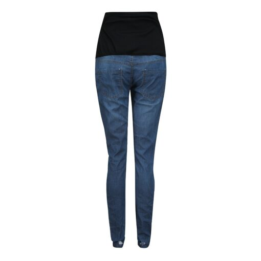 Pregnant Women s High Waist Belly Protection Push Up Jeans Ladies Fashion Slim Ripped Jeans Comfortable 5