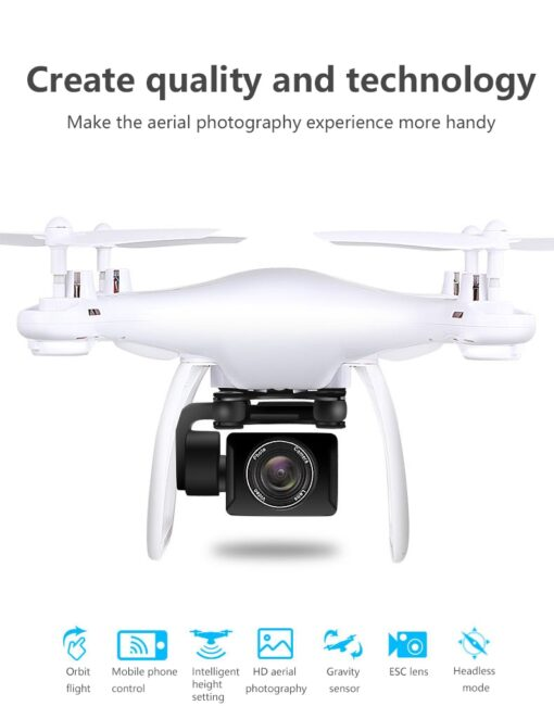 Professional Quadcopter Drones With HD Camera Wifi UAV RC Helicopter Telecontrol Four Axis Aircraft Aerial Photography 1