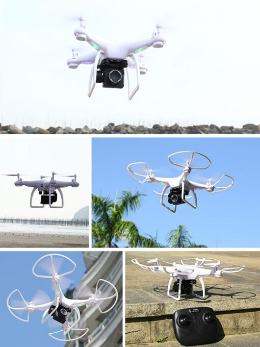 Professional Quadcopter Drones With HD Camera Wifi UAV RC Helicopter Telecontrol Four Axis Aircraft Aerial Photography 2