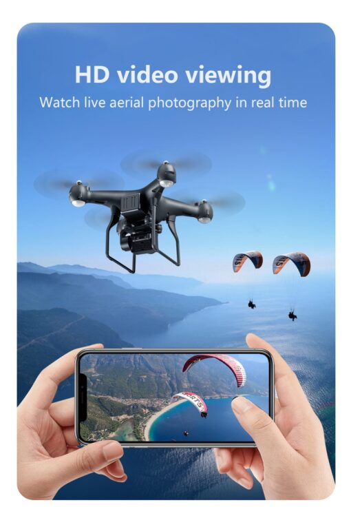 Professional Quadcopter Drones With HD Camera Wifi UAV RC Helicopter Telecontrol Four Axis Aircraft Aerial Photography 3
