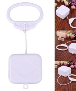 Pull Ring Music Box White ABS Plastic Pull String Clockwork Cord Music Box Baby Infant Kids 11