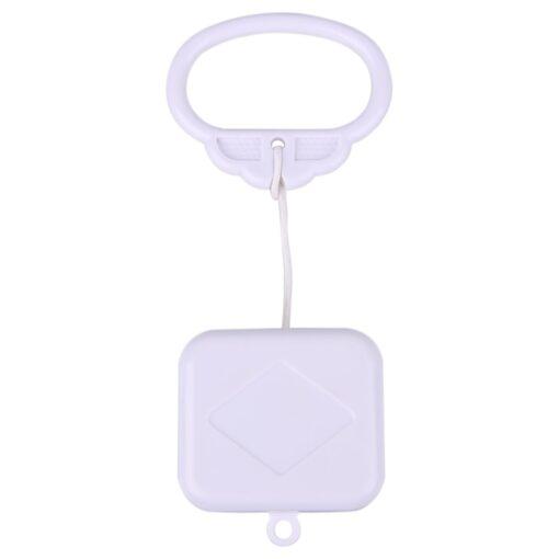 Pull Ring Music Box White ABS Plastic Pull String Infant Kids Clockwork Cord Music Box Infant 1