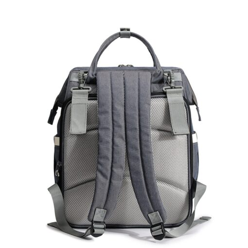 QINDU Large Capacity Diaper Bag Waterproof Maternity Care Baby Nappy Wet Bags Mummy Travel Portable Fold 2
