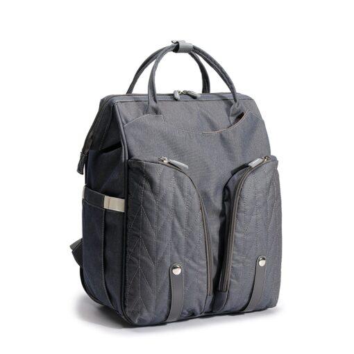 QINDU Large Capacity Diaper Bag Waterproof Maternity Care Baby Nappy Wet Bags Mummy Travel Portable Fold 3