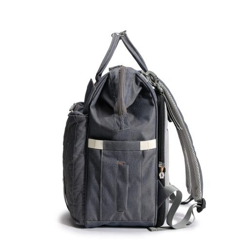 QINDU Large Capacity Diaper Bag Waterproof Maternity Care Baby Nappy Wet Bags Mummy Travel Portable Fold 4