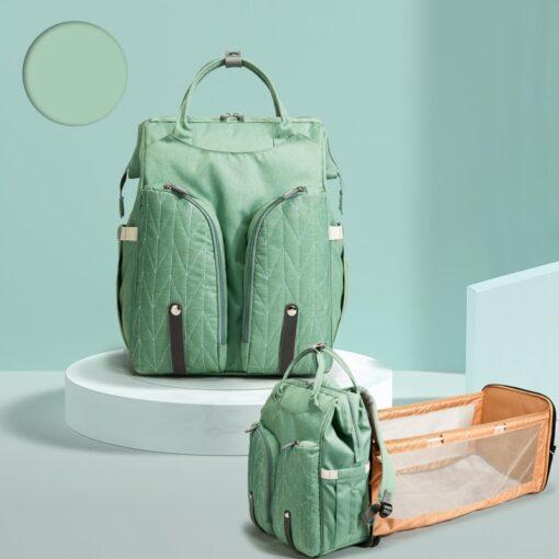 QINDU Large Capacity Diaper Bag Waterproof Maternity Care Baby Nappy Wet Bags Mummy Travel Portable Fold