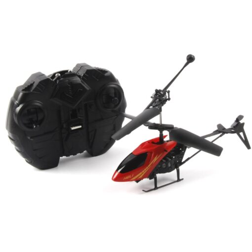 RC 901 2CH Mini helicopter Radio Remote Control Aircraft Micro 2 Channel Colorful lamps night vision 1