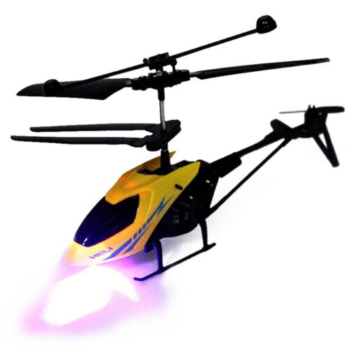 RC 901 2CH Mini helicopter Radio Remote Control Aircraft Micro 2 Channel Colorful lamps night vision 4