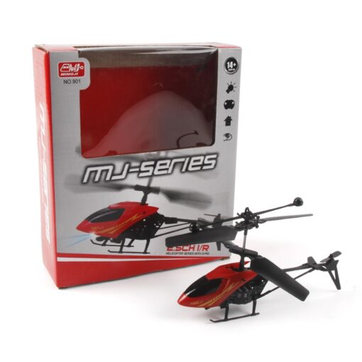 RC 901 2CH Mini helicopter Radio Remote Control Aircraft Micro 2 Channel Colorful lamps night vision 5
