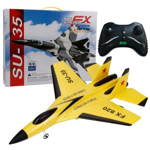 RC Airplane SU 35 Radio Remote Control 2 4G EPP Foam Airplane RC Plane Glider Aeroplane 1