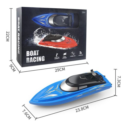 RC Boats 2 4g Remote Control Boat Lasts 20 Minutes High Speed Rowing Summer Water Boy 1