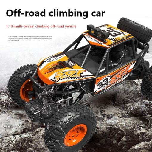 RC Car 2 4G High Speed Remote Control Vehicle Stunt Climbing Buggy Roll Car 360 Degree 1