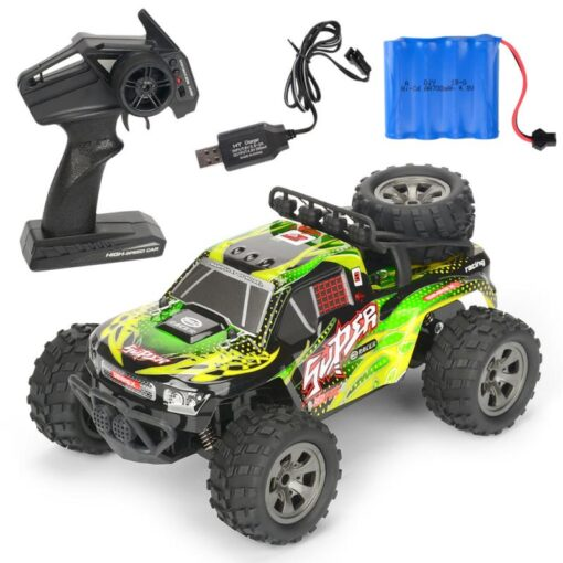 RC Car 2 4G High Speed Remote Control Vehicle Stunt Climbing Buggy Roll Car 360 Degree 3
