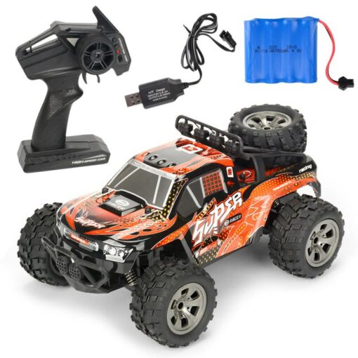 RC Car 2 4G High Speed Remote Control Vehicle Stunt Climbing Buggy Roll Car 360 Degree 4