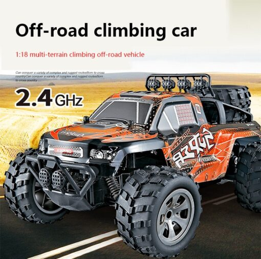 RC Car 2 4G High Speed Remote Control Vehicle Stunt Climbing Buggy Roll Car 360 Degree
