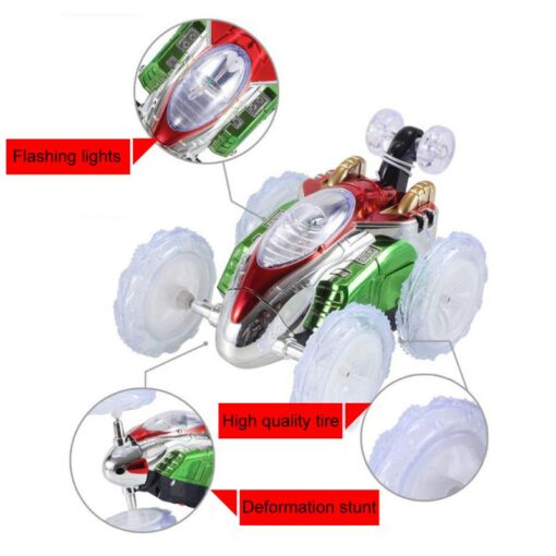 RC Car Remote Control Car 360 Tumbling Electric Controlled High Speed RC Stunt Dancing Car Flashing 1