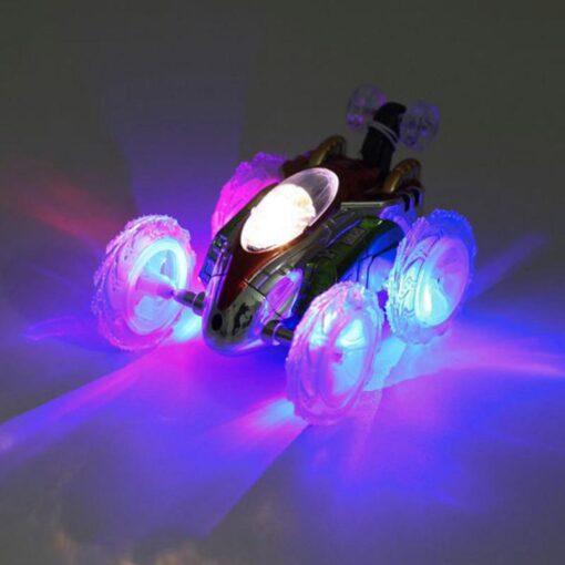 RC Car Remote Control Car 360 Tumbling Electric Controlled High Speed RC Stunt Dancing Car Flashing 2