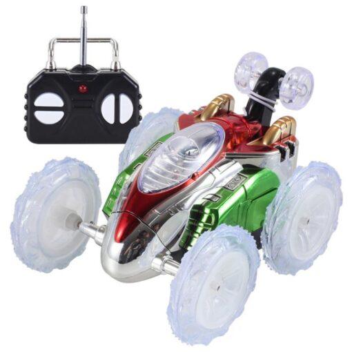 RC Car Remote Control Car 360 Tumbling Electric Controlled High Speed RC Stunt Dancing Car Flashing 3