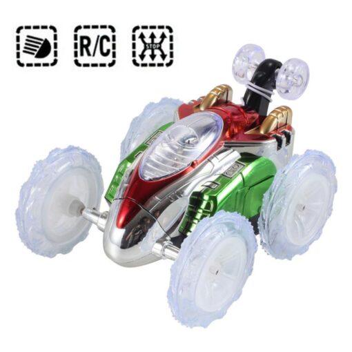 RC Car Remote Control Car 360 Tumbling Electric Controlled High Speed RC Stunt Dancing Car Flashing
