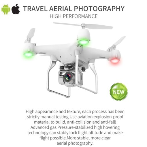 RC Drone Quadrocopter UAV with Camera 4K Profesional WIFI Wide angle Aerial Photography Ultra long Life 2