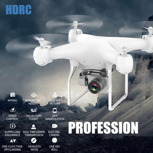 RC Drone Quadrocopter UAV with Camera 4K Profesional WIFI Wide angle Aerial Photography Ultra long Life 4