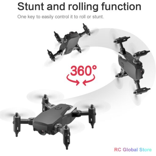 RC Drone UAV 4K HD with Camera Quadrocopter Mini 606 Remote Control Helicopter One Key Return 1