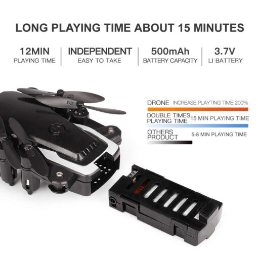 RC Drone UAV 4K HD with Camera Quadrocopter Mini 606 Remote Control Helicopter One Key Return 5