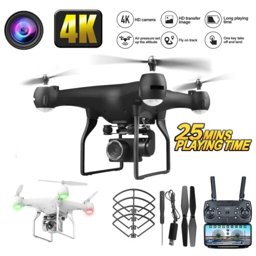 RC Drone with HD Camera Remote Control Axis UAV 4K HD Pixel Aerial Drone Aircraft Long