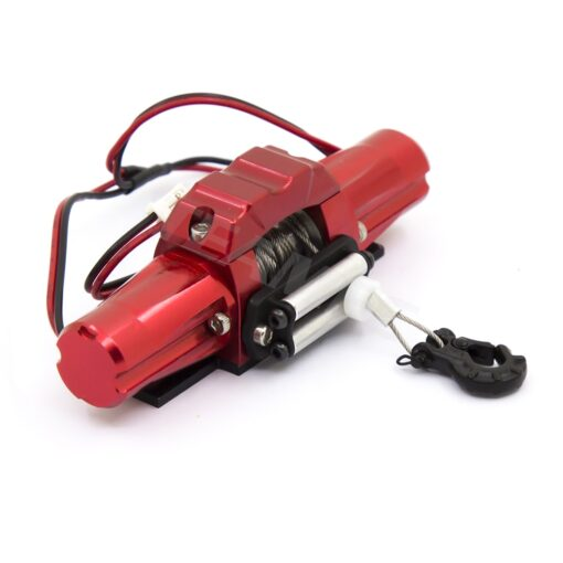 RC Metal Automatic Double Motor Simulated Winch For 1 10 RC Crawler Car Axial SCX10 TRAXXAS 3