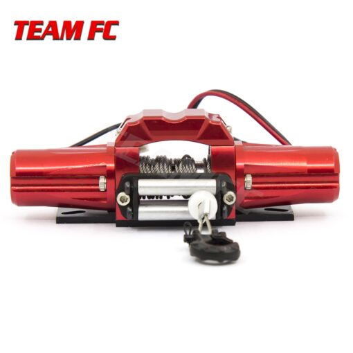 RC Metal Automatic Double Motor Simulated Winch For 1 10 RC Crawler Car Axial SCX10 TRAXXAS