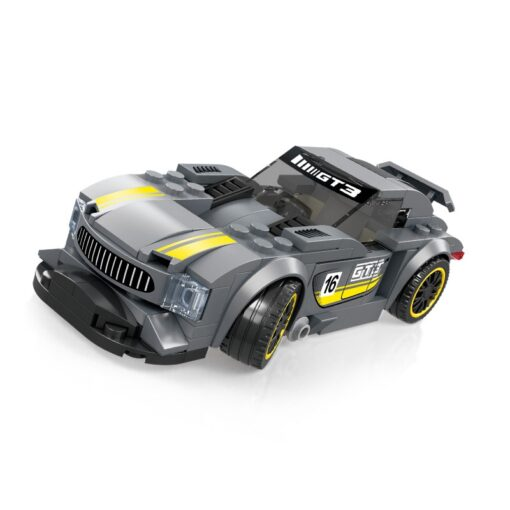 Racing Blocks Series Small Racing Car Super Racing Car Building Blocks Bricks Kids Toys Educational Toys 5