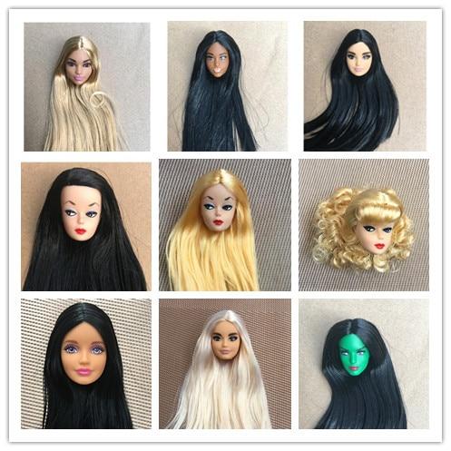Rare Global Limited Edition Doll Toy Head Princess Fashion Wonder Lady Doll Head Girl DIY Dressing 1