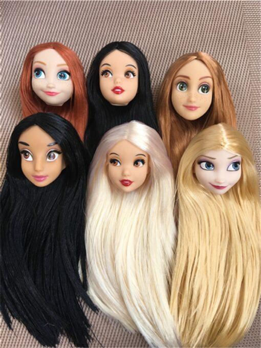 Rare Global Limited Edition Doll Toy Head Princess Fashion Wonder Lady Doll Head Girl DIY Dressing 3