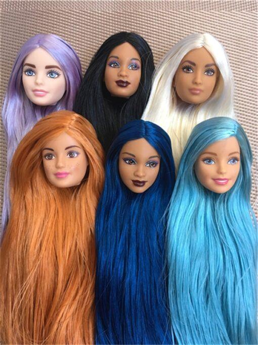 Rare Global Limited Edition Doll Toy Head Princess Fashion Wonder Lady Doll Head Girl DIY Dressing 4