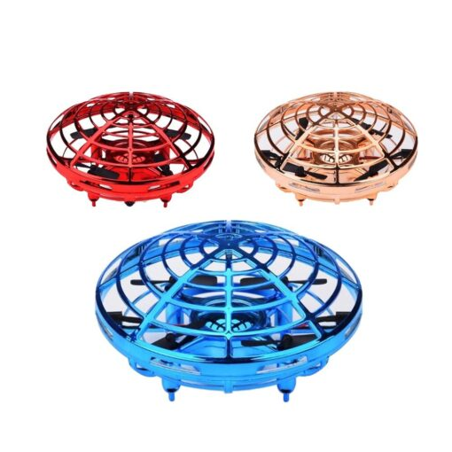 Rc Quadcopter Flying Helicopter Magic Hand UFO Ball Aircraft Sensing Mini Induction Drone Kids Electric Electronic 2