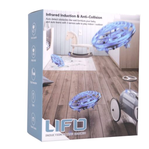 Rc Quadcopter Flying Helicopter Magic Hand UFO Ball Aircraft Sensing Mini Induction Drone Kids Electric Electronic 5