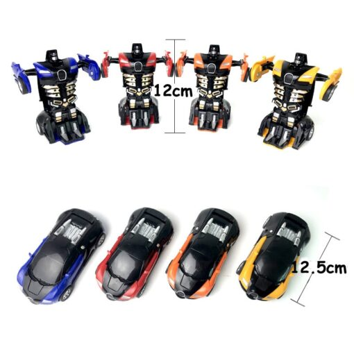 Rc Transformer 2 in 1 RC Car Robot Toy Anime Action Figure Toys Interactive toys Collision 3