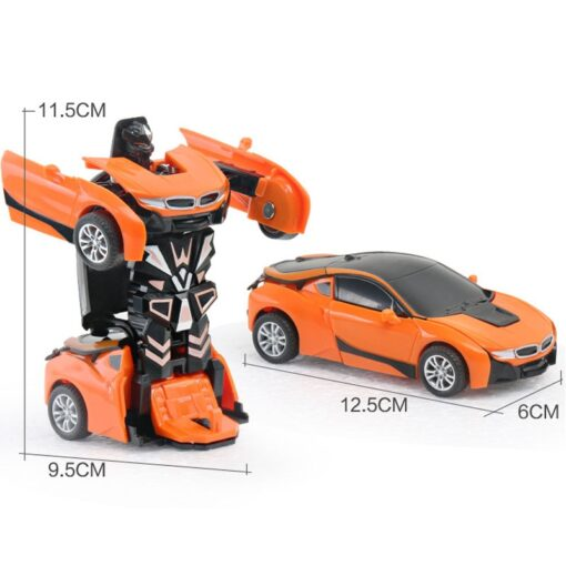 Rc Transformer 2 in 1 RC Car Robot Toy Anime Action Figure Toys Interactive toys Collision 4