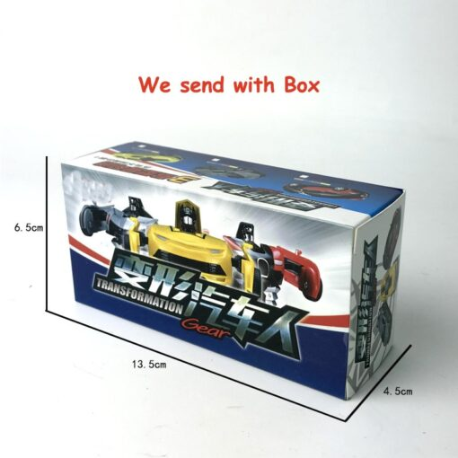 Rc Transformer 2 in 1 RC Car Robot Toy Anime Action Figure Toys Interactive toys Collision 5